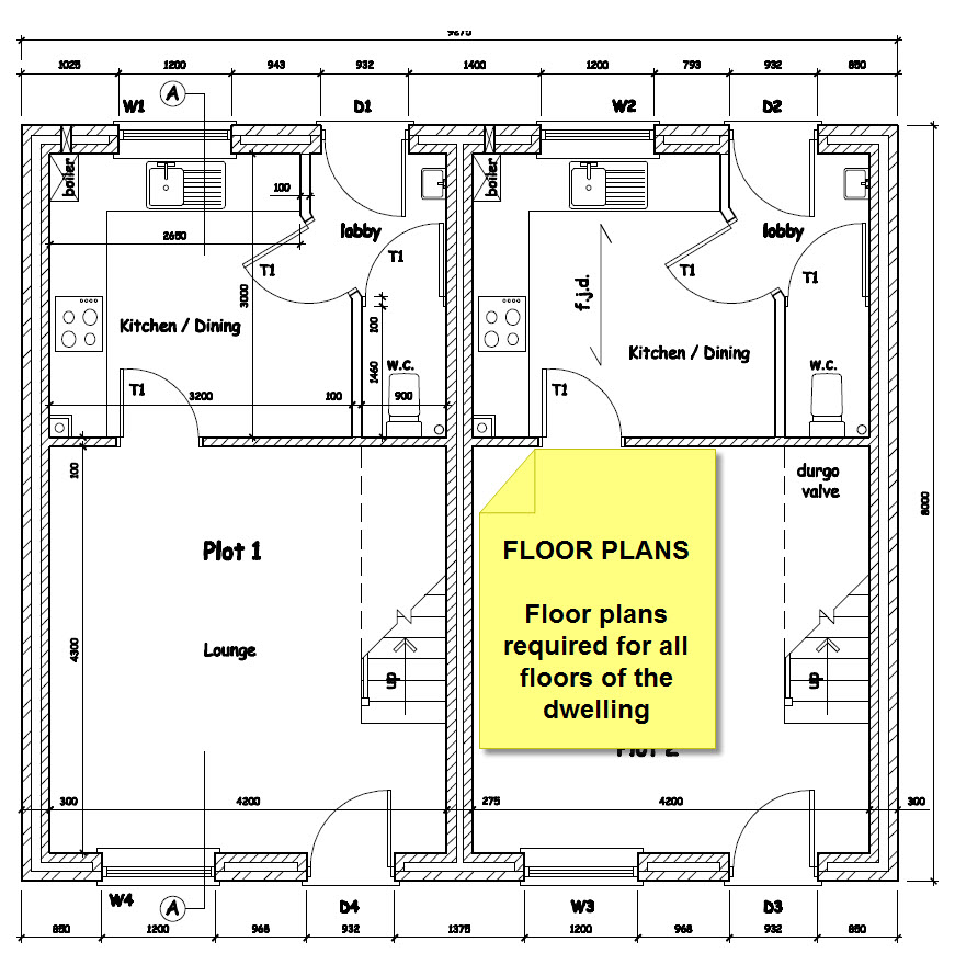 Test House - Floor Plans